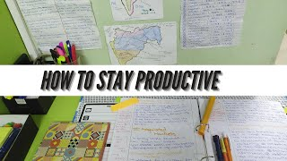 How to stay productive | Productivity tips | Answering your questions.
