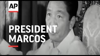 SYND 28-9-72 PRESIDENT MARCOS PRESS CONFERENCE ON THE STATE OF MARTIAL LAW