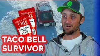 Taco Bell survivor: Man lived on fire sauce, gets year of free food