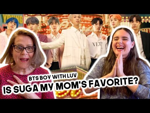 MY MOM REACTS TO BTS 'Boy With Luv' feat. Halsey