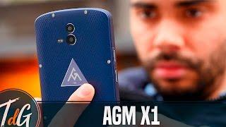 AGM X1 smartphone rugerizado IP68, review en español