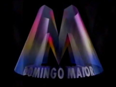 Intervalo Rede Globo - Domingo Maior - 17/01/1993 (1/3)
