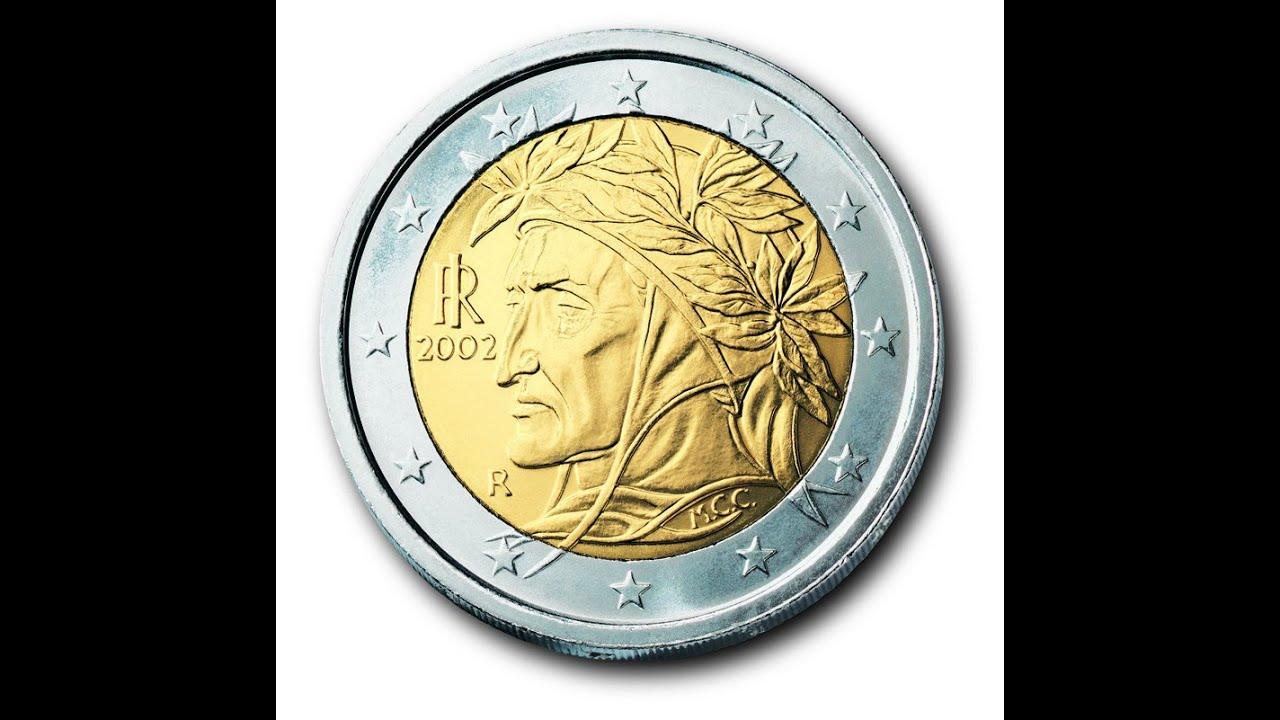 Сколько стоит монета 2 евро 2002 10 копеек 1932 цена