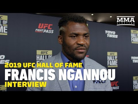 Francis Ngannou Feels It's 'Obvious' He's Getting Next Title Shot At Heavyweight