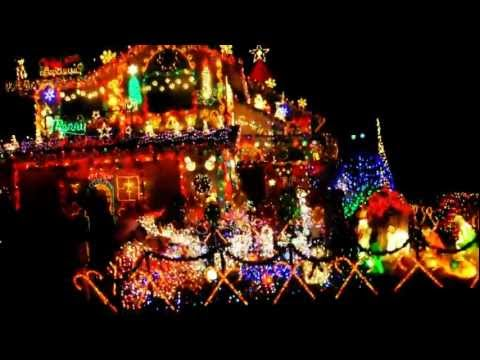 Diane Drive Antelope California Christmas Lights - Video By Giofotos.com