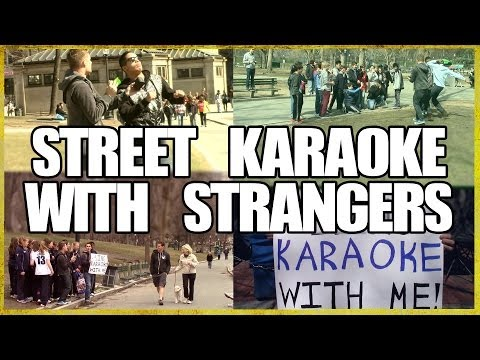 Sometimes You Just Have To Sing Karaoke With Strangers In The Street