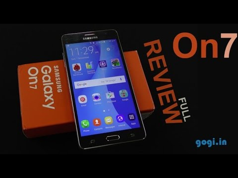 Samsung Galaxy On7 Full Review Price Rs 10 990 Youtube
