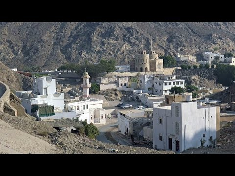 Muscat Old Town Oman 4K