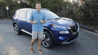 2021 Nissan Rogue Test Drive Video Review