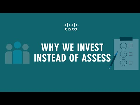 Why We Invest Instead of Assess