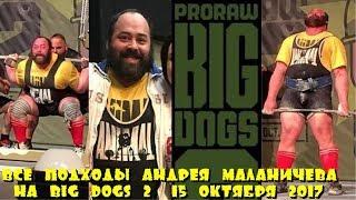 ANDREY MALANICHEV АНДРЕЙ МАЛАНИЧЕВ 1105kg BIG DOGS 2 ProRaw 2017