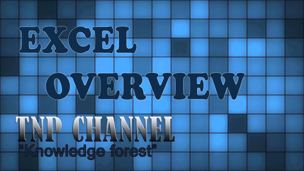 Tự Học Excel Online – Bài 1: Giới thiệu tổng quan về EXCEL [OFFICIAL]
