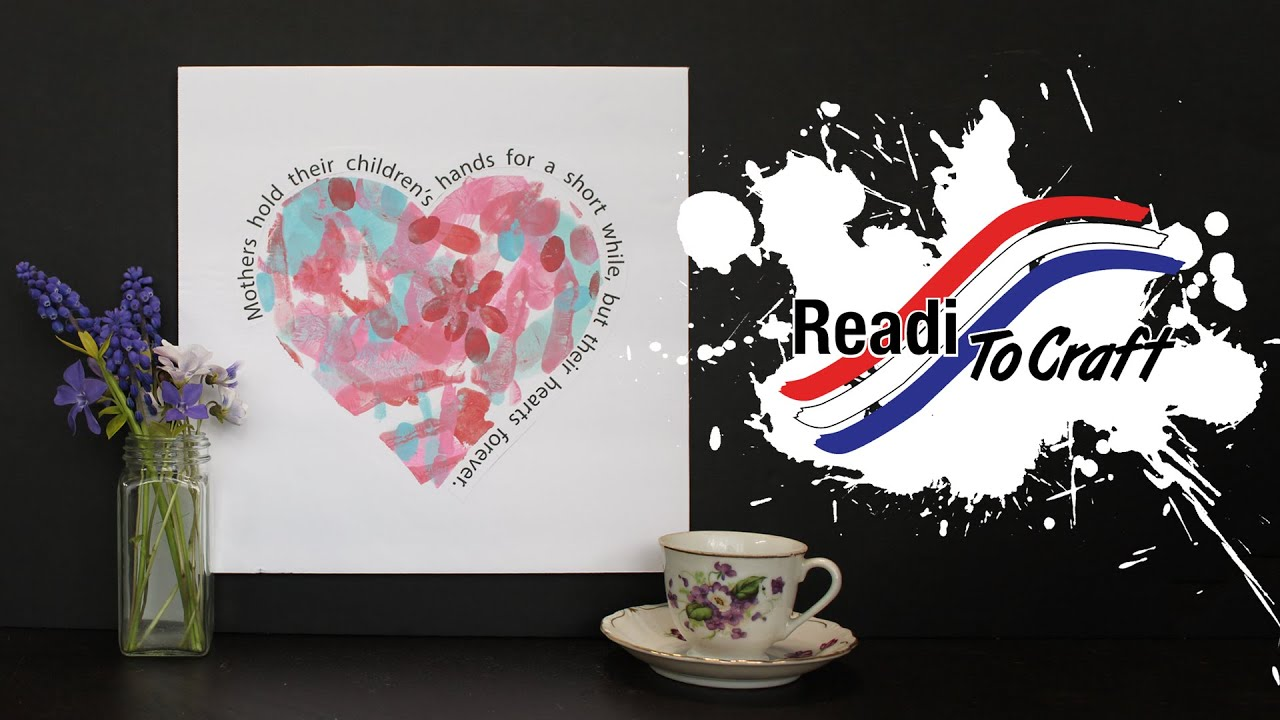 Readi to Craft: Handprint Heart