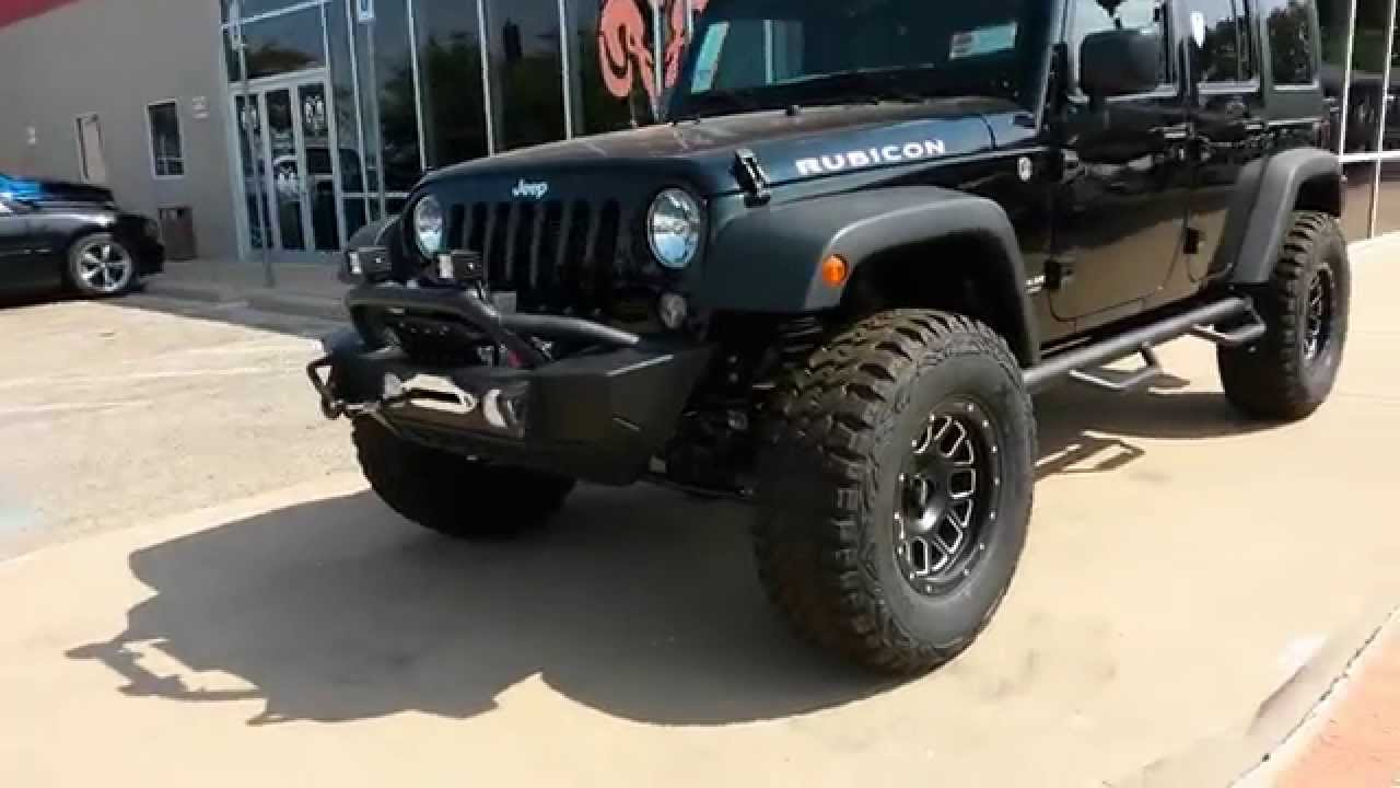 Superior Tricked Out New 2015 Jeep Wrangler Rubicon 4x4 4dr Hardtop