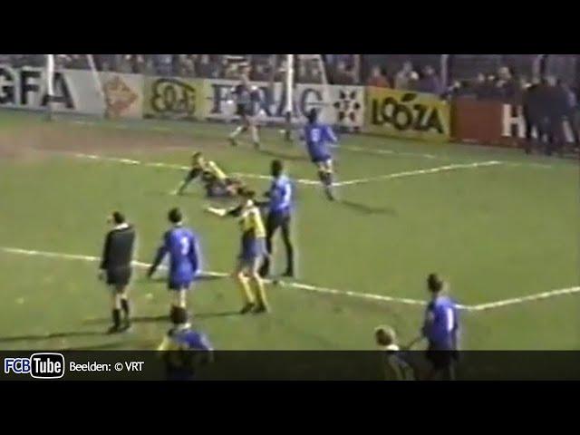 1988-1989 - Jupiler Pro League - 25. Sint-Truiden - Club Brugge 5-1