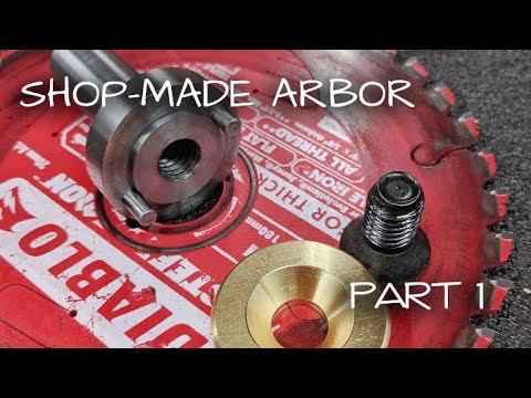 Turning Steel on the Mill!  Shop-Made Saw Arbor [Part 1]