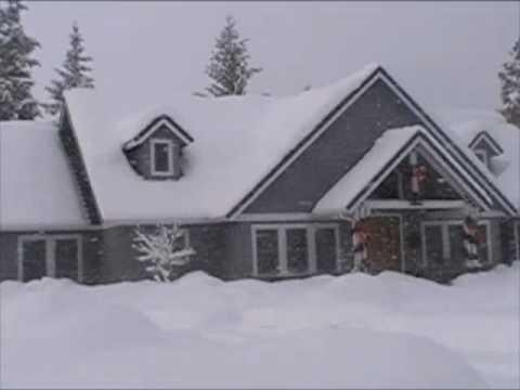 Idaho snow storm December 2008, worse in 100 years.