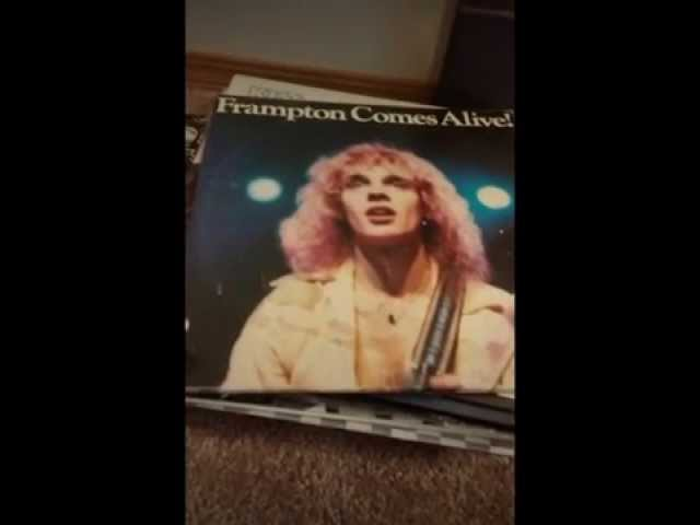 Junkyard Jesse's record collection