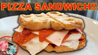 MAKING PIZZA SANDWICHES WITH JOJO SIWA!!!