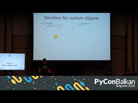 Image from PyCon Balkan Belgrade 2018 - Day 2 - LIVE STREAM