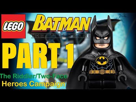LEGO Batman Walkthrough Part 1 - You can bank on Batman (feat. Clayface) |