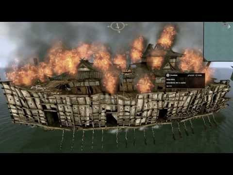 Shogun 2 total war nihon maru ship sinking |