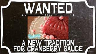 Dear Martini's Jellied Cranberry Sauce