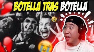 Coreano reacciona a Botella Tras Botella 😭💔 Gera MX, Christian Nodal
