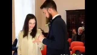 Lodovica Comello si è sposata video+foto