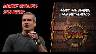 Стендап Генри Роллинза: Об Iron Maiden и металлистах