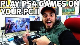 PS4 Emulator | Play God Of War 4, Last of us on PC !! Very Simple Trick !! HINDI