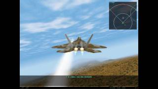 [Classic] F22-Lightning 3 - Gameplay #1 / Graphic test HD5770