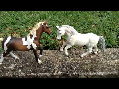"""Alone"" A schleich music video"