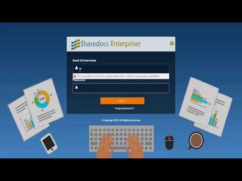 ShareDocs Enterpriser for HR Departments