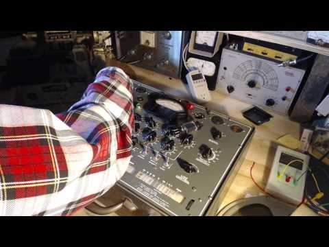 Rogers 11RA651 Shortwave Radio Video #2 - Tube Testing