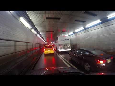 Holland tunnel from NY to NJ