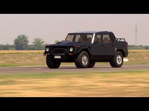 Lamborghini Looks Back on its First SUV The LM002 - Unravel Travel TV