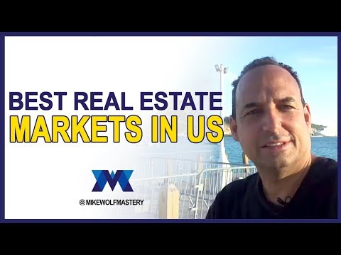 Best Real Estate Markets In US - Best Place To Invest In 2018