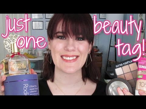 """The """"Just One"""" Beauty Tag"""