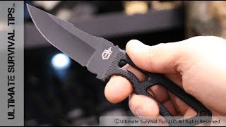 Gear QUICK Look - Gerber Ghost Strike Ultra Light Fixed Blade Survival / Self-Defense Knife