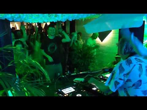 Dominik Eulberg at Sonntagstanz, MTW Club, Offenbach - DJs at work