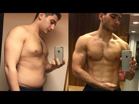 8 Months Body Transformation Fat to Ripped | Before & After