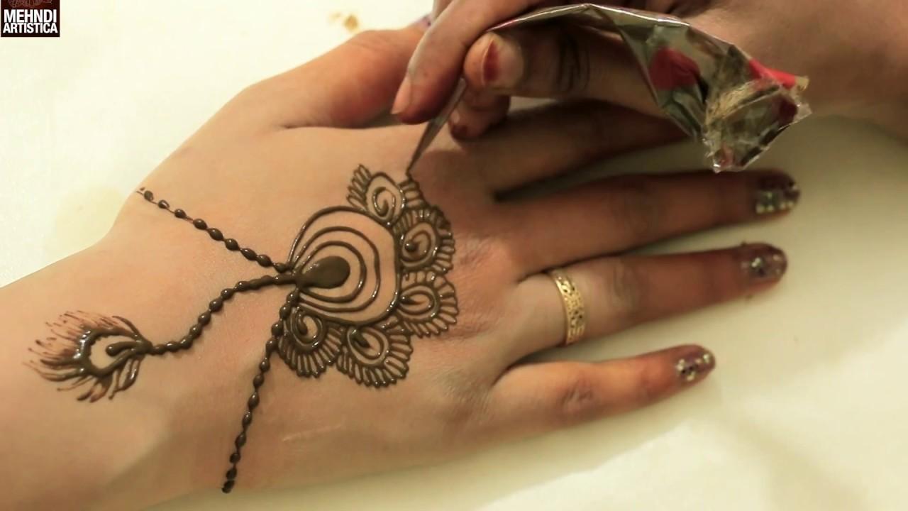 Finger Mehndi Art : Diy jewelry design fingers mehndi arteasy simple beautiful