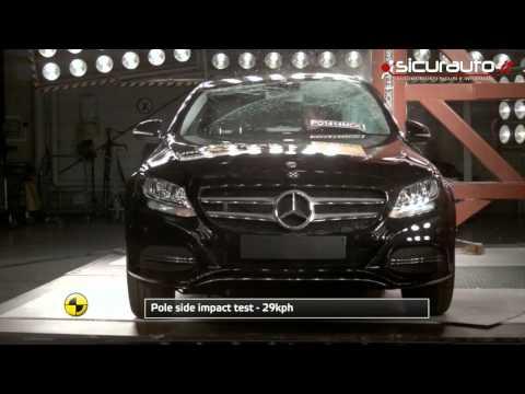 Mercedes-Benz Classe C - Euro NCAP Crash Test - AEB Test