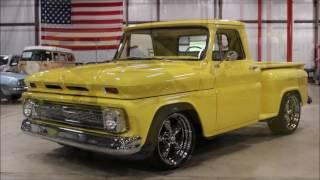 1965 Chevy Pickup yellow