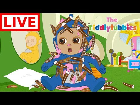 Teletubbies LIVE ★ NEW SEASON 2 Tiddlytubbies 2D Series ★ Ep 1 Thanksgiving ★ Cartoon for Kids