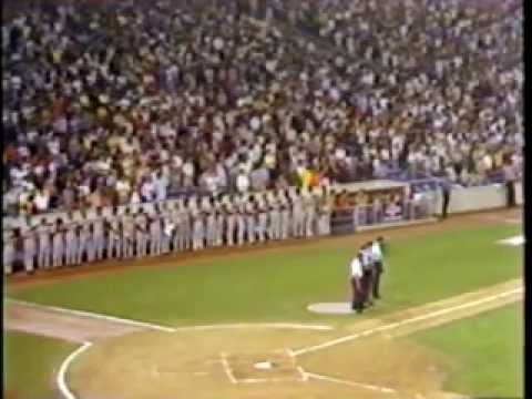Thurman Munson 1979 - Munson Memorial & Tribute, Yankee Stadium, 8/3/1979, WPIX-TV