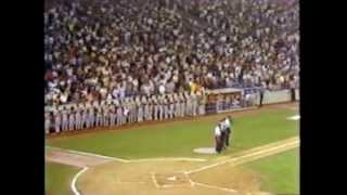 Thurman Munson 1979 - Munson Memorial & Tribute, Yankee Stadium, 8/3/1979, WPIX-TV