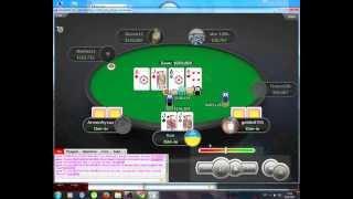 PokerStars Самая лучшая роздача в покере! Но ривер творит чудеса.
