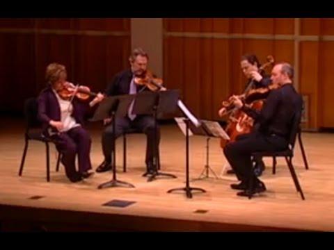 Mark O'Connor's String Quartet No. 3 (2nd Mvmt) w. Kavafian/Neubauer/Haimovitz